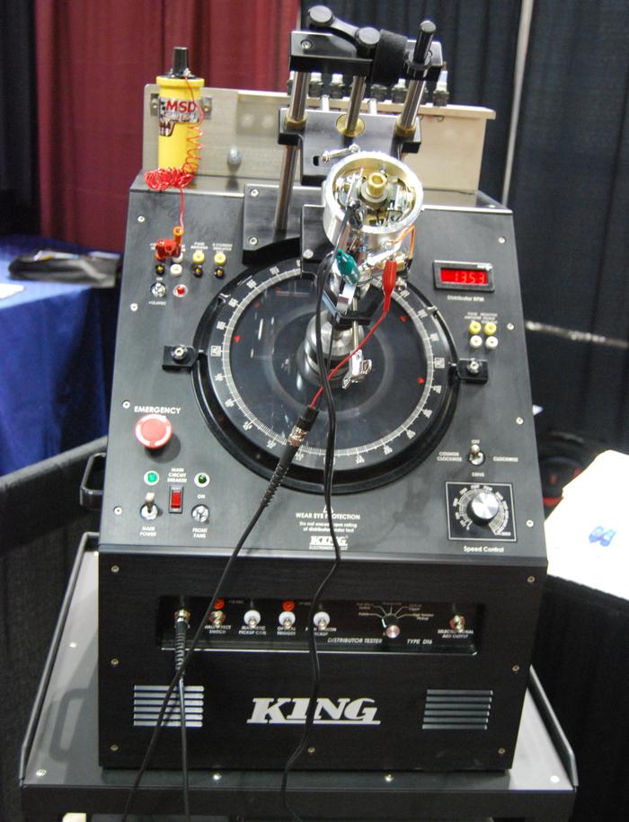 Vintage Engine Analyzers And Distributor