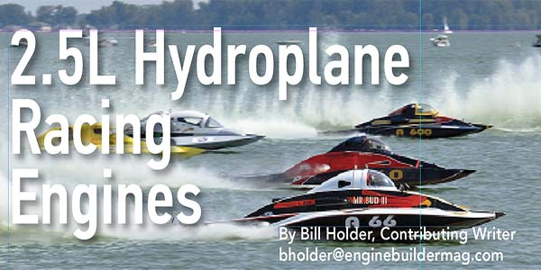 A Review of the History and Technology in 2 5L Hydroplane