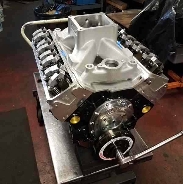 Small Block 421 Chevy Nitrous Engine - Engine Builder Magazine