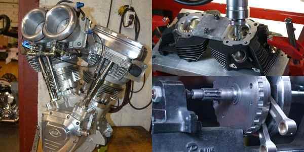 S&S-Based Harley-Davidson Evolution V-Twin Engine - Engine