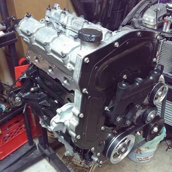 Turbocharged LD9 Oldsmobile Quad 4 Engine - Engine Builder