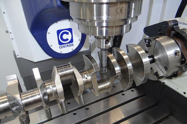 Centroid A590 5-Axis Machining Center - Engine Builder Magazine