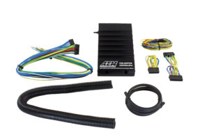 aem's f/ic-8 is a piggyback ecu that works in parallel with the factory  ecu  it enables racers to retard ignition timing and deliver accurate  amounts of