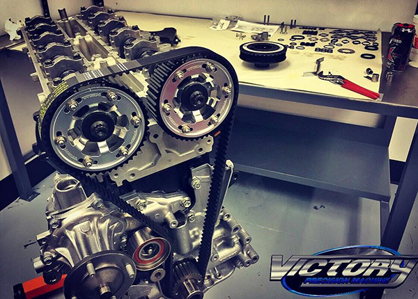 Victory Precision Machine will also blueprint and provide a spec sheet with every engine the shop builds. This Toyota 2JZ also got balanced and the crank ...