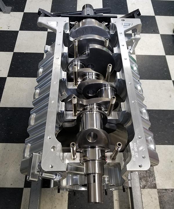 All-Billet Chrysler Hemi-Based NHRA Pro Mod Engine - Engine