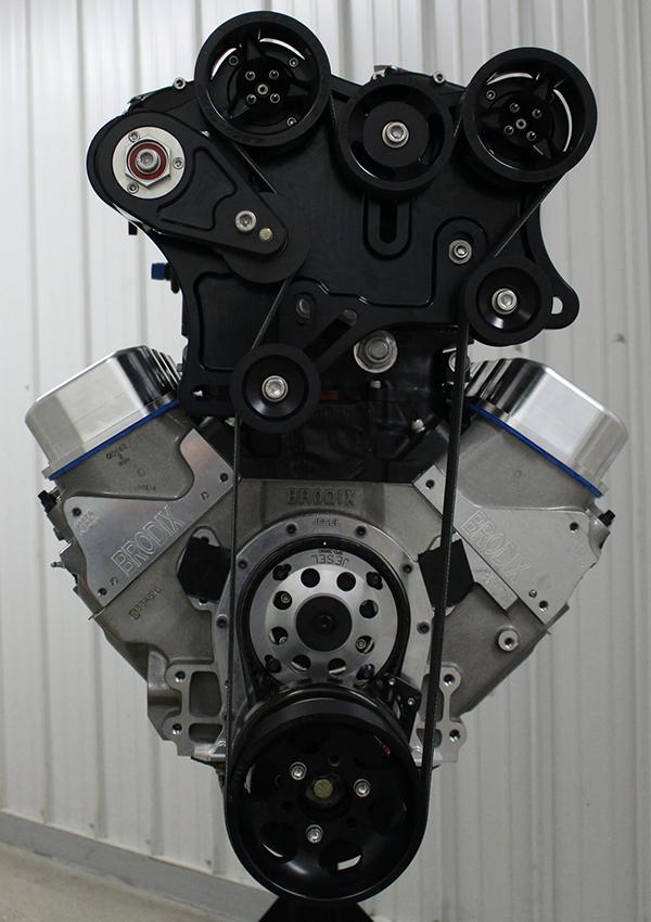 Twin Whipple 540 cid Big Block Chevy Engine - Engine Builder