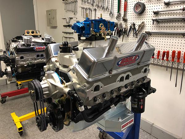 358 cid National Late Model Chevy Engine - Engine Builder