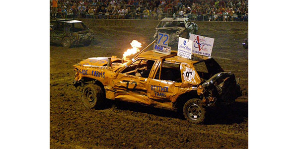 The Dirt On Demolition Derby Engines