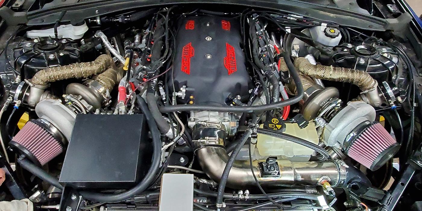 416 Cid Twin Turbo Lt1 Engine Engine Builder Magazine