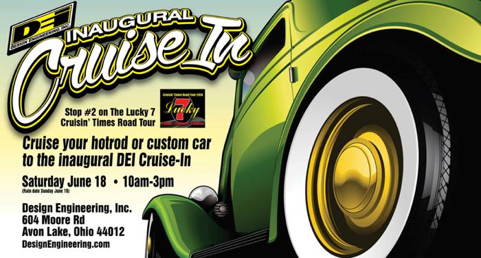 DEI Announces Inaugural Cruise-In Custom Car Show Event - Engine