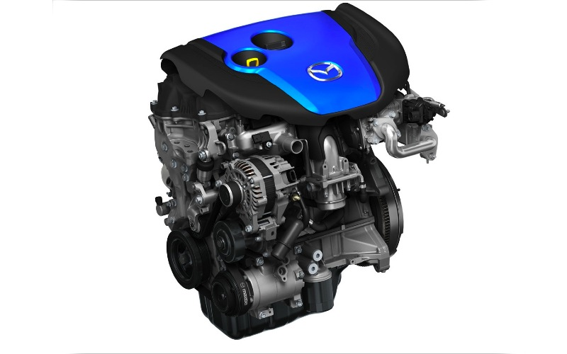 the skys the limit: looking into mazda's skyactiv engine technology