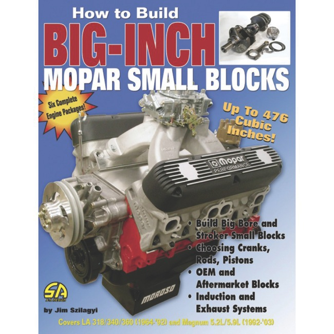 Book Report How To Build Inch Mopar Small Blocks